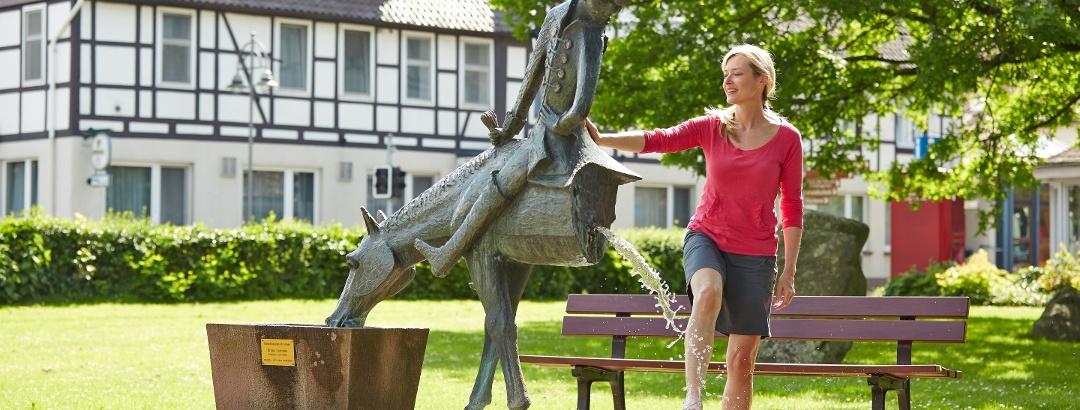Das halbe Pferd
