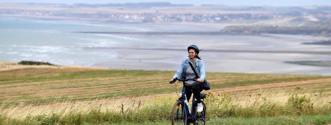 Vélo dans le Boulonnais (Pas-de-Calais)