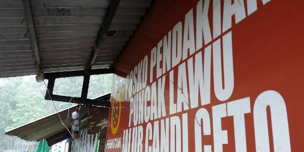 Pos Pendakian Lawu via Cetho