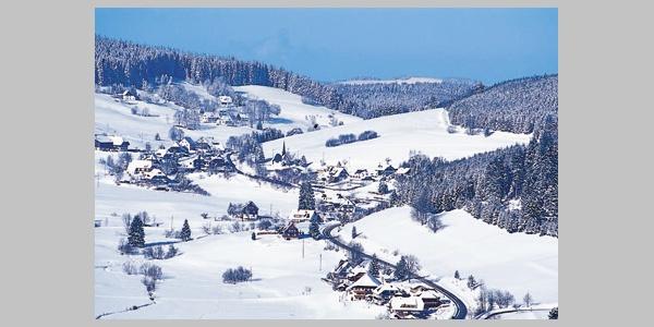 Schluchsee/Fischbach Winterlandschaft