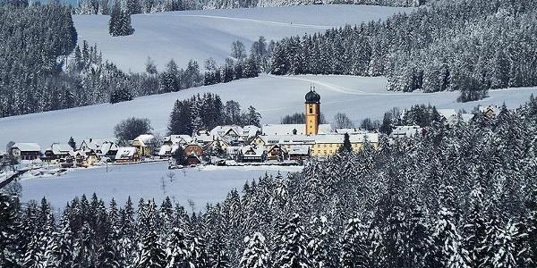 Winter in St. Märgen