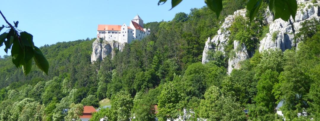 Burg Prunn bei Riedenburg im Altmühltal