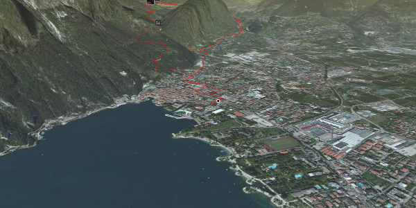 mountain biking trail at Lake Garda: 734. Malga Grassi