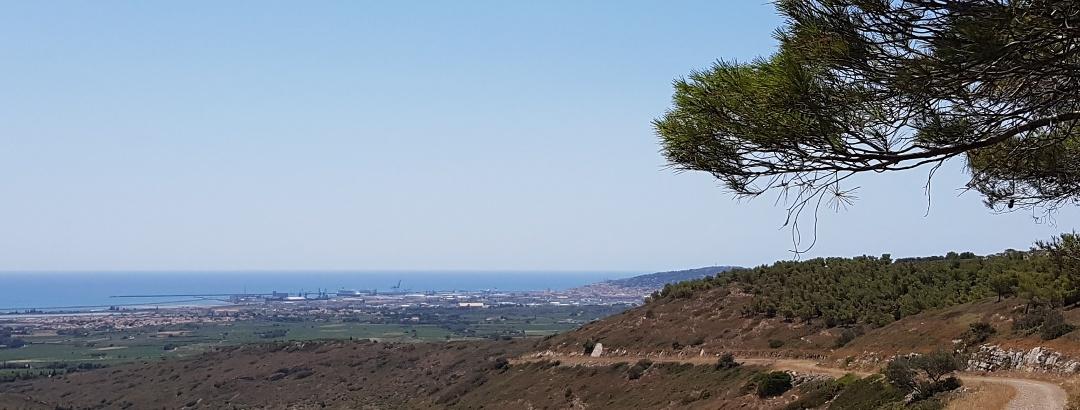 Vue imprenable sur Sète et Frontignan