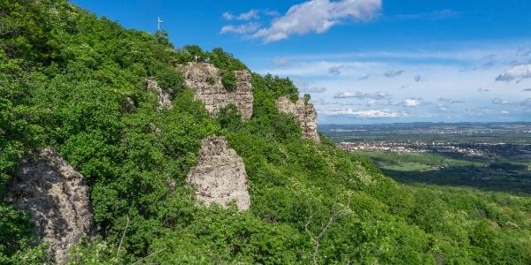 A Kő-hegy sziklái