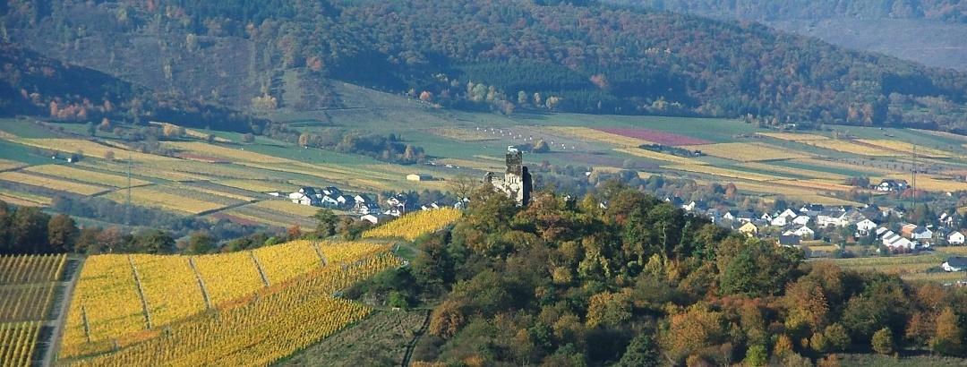 """Kogelherrenweg, Blick aufs """"Kloster"""""""