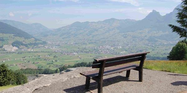 Schwyzer Höhe Aussicht