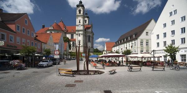 Marktplatz von Ottobeuren