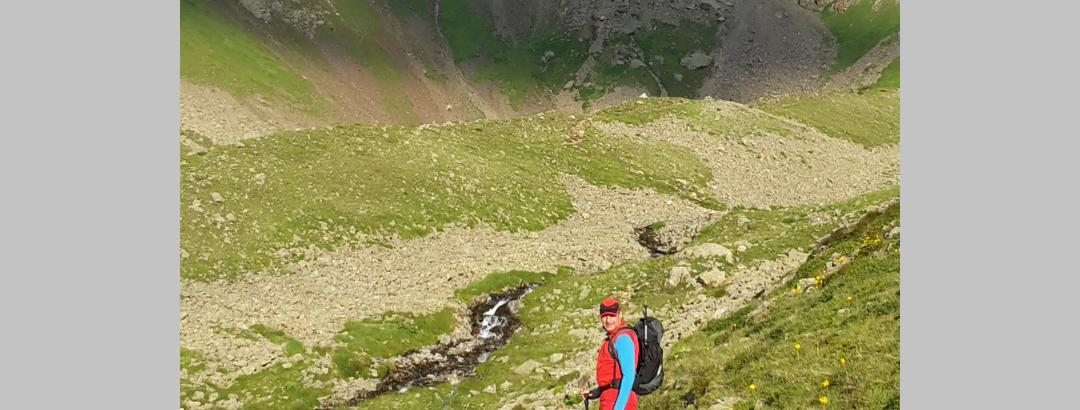 Richtung Kuchenspitze