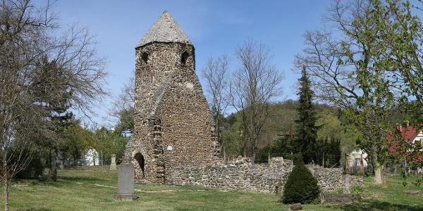Szigliget, Avasi templomrom (Csonkatorony)