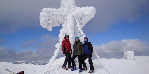 Am Gipfel der Veitsch