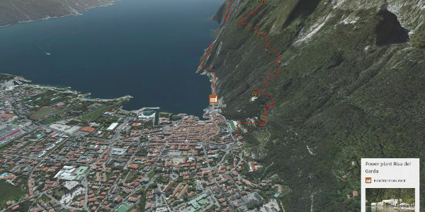 via ferrata at Lake Garda: Via Ferrata Fausto Susatti - Cima Capi