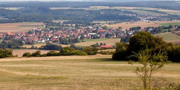 Vom Hölleberg Langenthal Blick auf Deisel