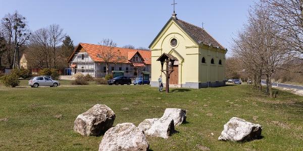 Az Esterházy-kápolna Kőhányáspusztán