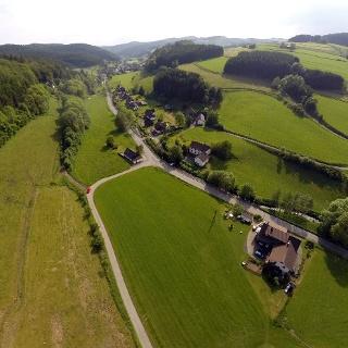 Luftaufnahme Alertshausen