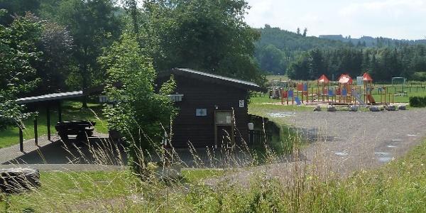 Die Grillhütte, Ausgangspunkt der Wanderung