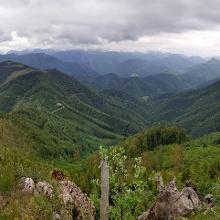 Panorama Schneeberg Richtung Süden