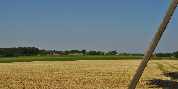 Blick vom Tiefen Weg auf Neuenkirchen