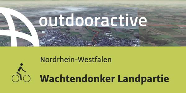 Radtour in Nordrhein-Westfalen: Wachtendonker Landpartie