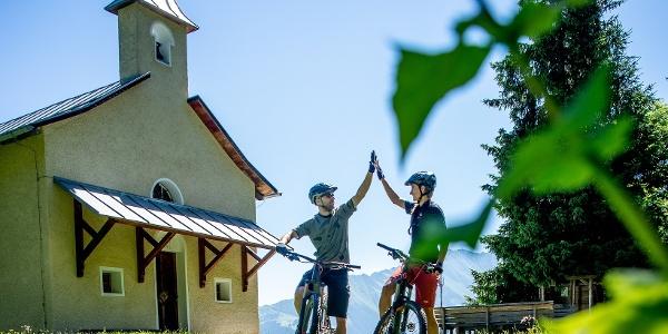 Sogn Carli - Höchster Punkt der Tour geschafft
