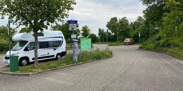 Stellplat am Parkplatz Edenkobener Straße