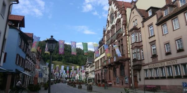 Wolfach Marktplatz