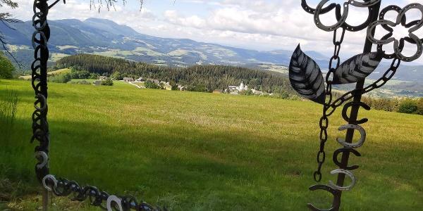 St. Kathrein, Aussicht vom Vogelbeer-Panoramaweg