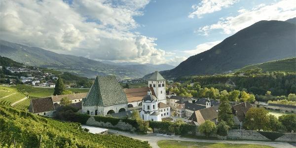 Monastery Neustift with vineyards