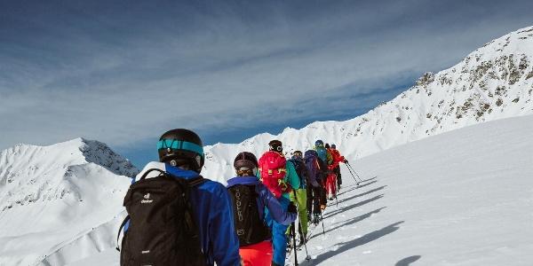 Skitour Winter