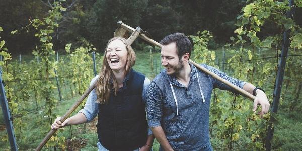 Tamara und Robert vom Weingut Kögl