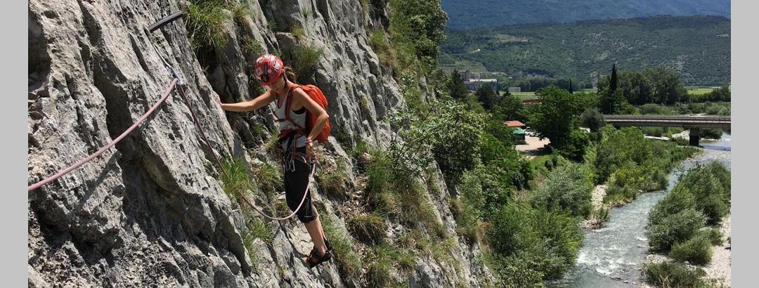 "Blick vom 1. Stand der ""Orizzonti Dolomitici"""