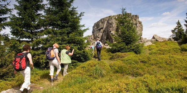 "Bergmassiv ""Auf dem Acker"" im Nationalpark"