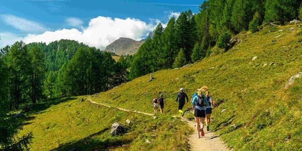 Trailrunning on Via Engiadina