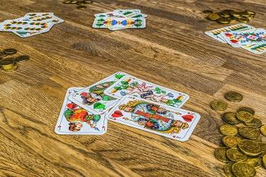 Kartenspiel Schafkopf