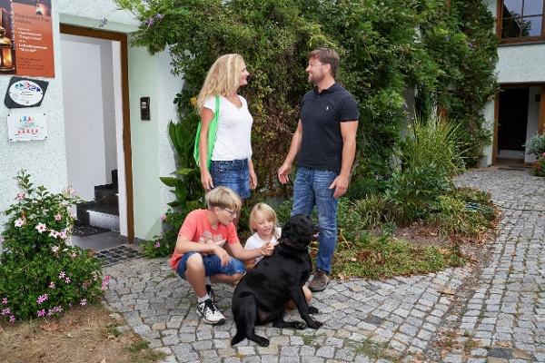 Urlaub mit Hund im Vogtland - Familie