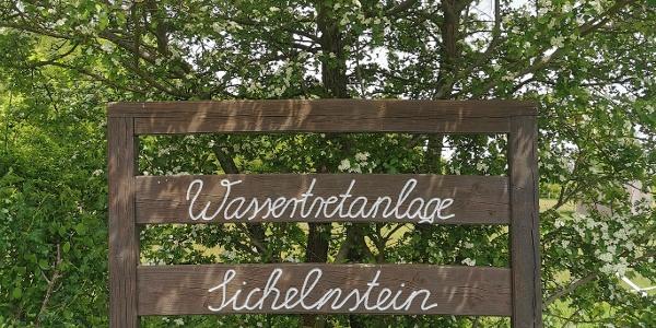 Wassertretanlage Sichelnstein- Holztafel
