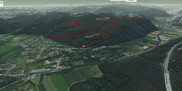 Trailrunning-Strecke in den Wiener Alpen: Schlossberglauf - Seebenstein