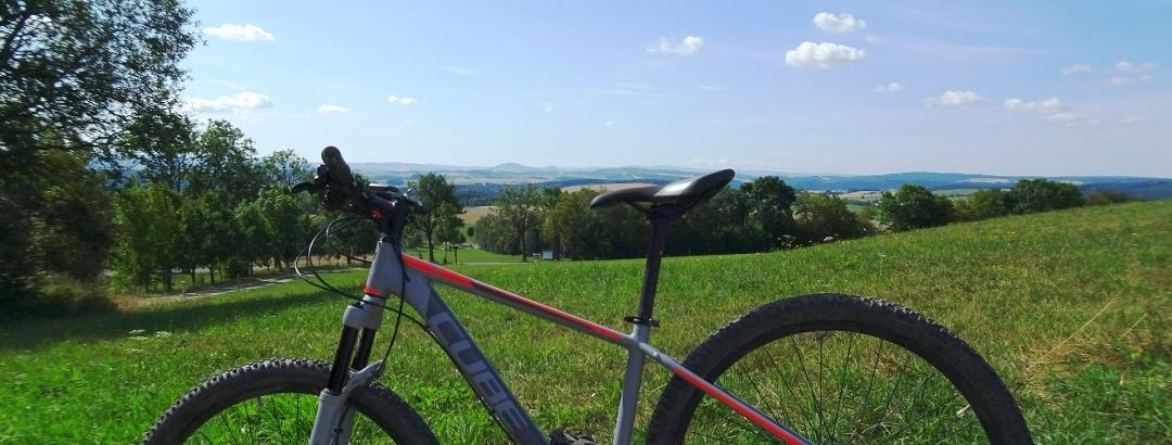 Ausblick von der Dittersdorfer Höhe