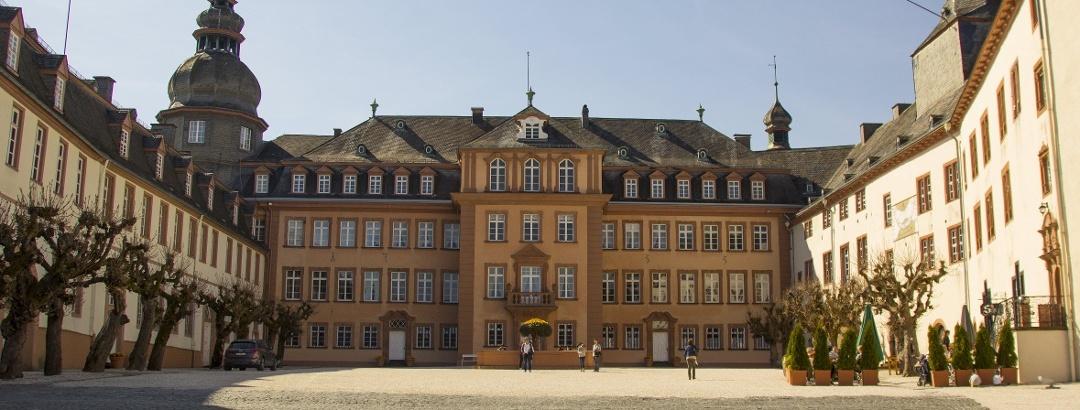Schloss Berleburg mit Schlosshof