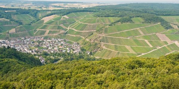Aussicht vom Krausbergturm
