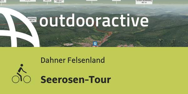 Radtour im Dahner Felsenland: Seerosen-Tour