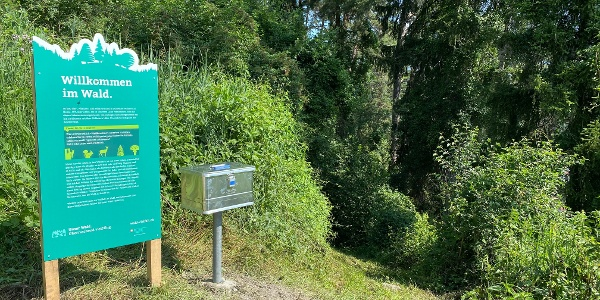 Start Wald-Vielfalt Parcours Cazis