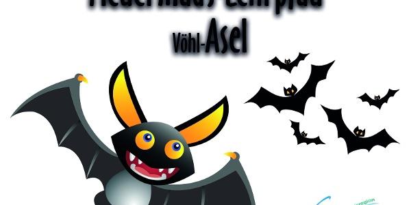 Titelbild Fledermaus-Lehrpfad Vöhl-Asel am Edersee
