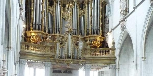Orgel im Münster Salem