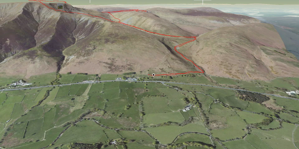 hike in Eden: Blencathra, Mungrisdale Common & Bannerdale Crags - Avoiding Sharp Edge