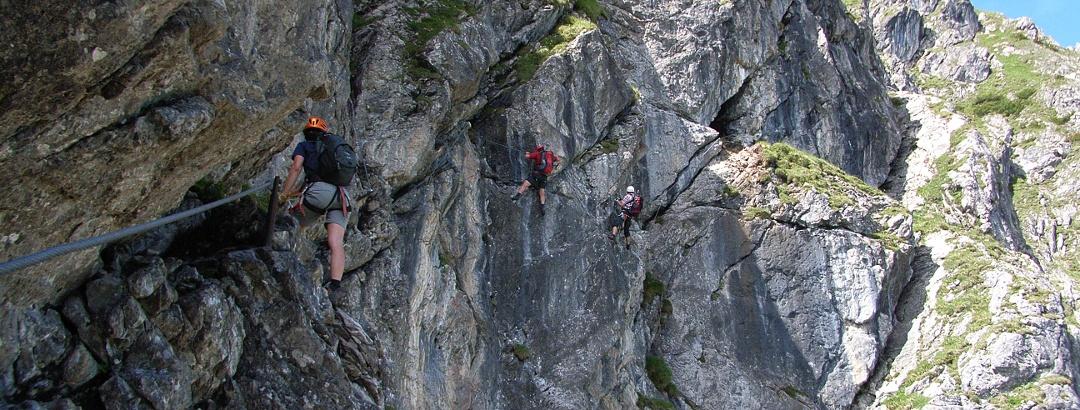 Kletterwand Kanzelwand