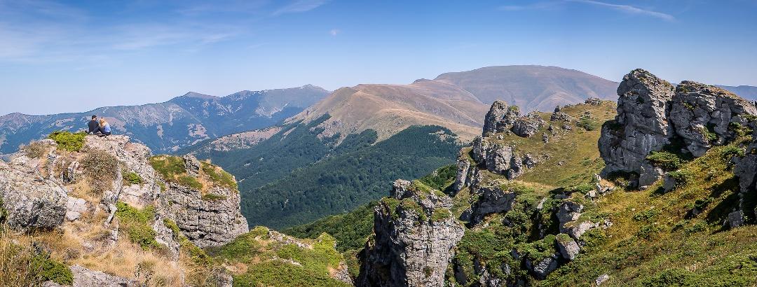 Balkan Mountains in Serbia