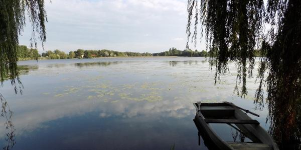 Háromfa lake