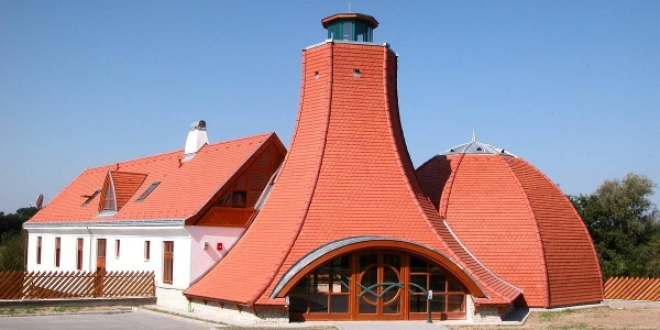 Drava gate visitors' center
