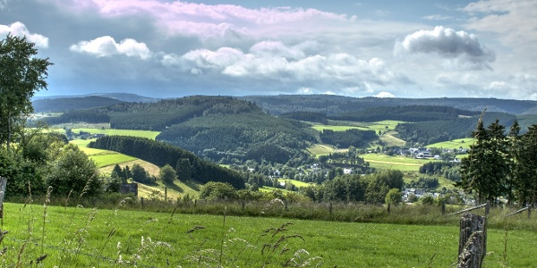 """Aussicht """"Wittgensteiner Panoramaweg"""""""
